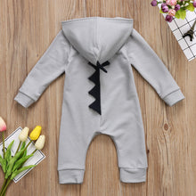 Load image into Gallery viewer, 'Baby-Zilla' Hooded Jumpsuit