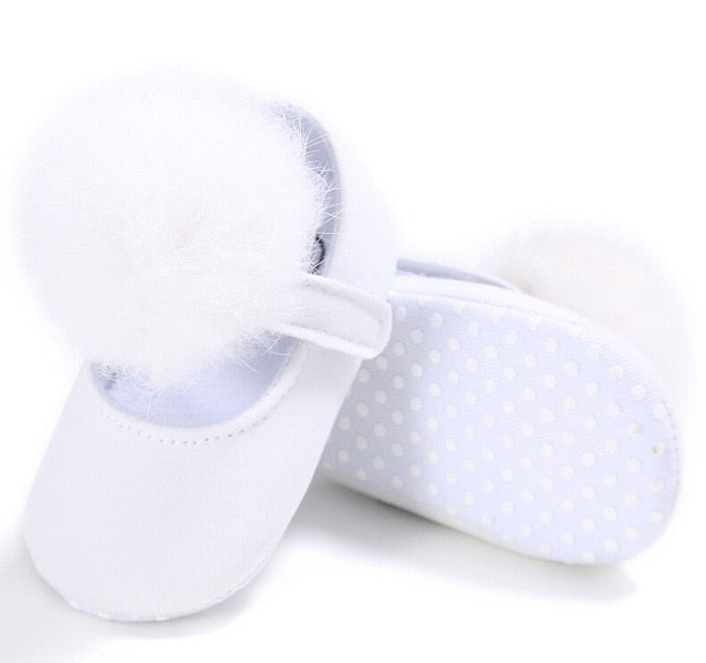 Baby Girl Soft Plush Princess Shoes
