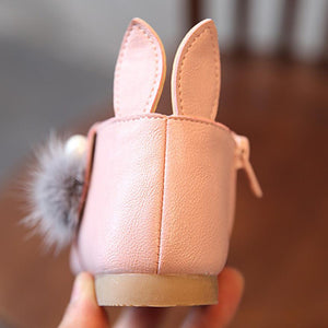 Toddler Baby Girls Rabbit Ears Ball Sneaker