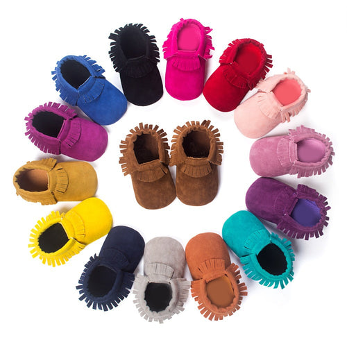 Baby Soft Sole Suede Shoes