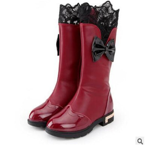 Trendy Padded High Boots for baby girl