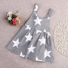 Load image into Gallery viewer, Stars and Stripes Summer Toddler Sleeveless Dress