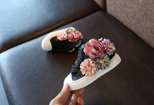 Load image into Gallery viewer, 'Florence Bloom' Hi-Top Sneakers