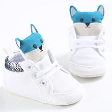 Load image into Gallery viewer, Trendy Fox Head baby sneaker