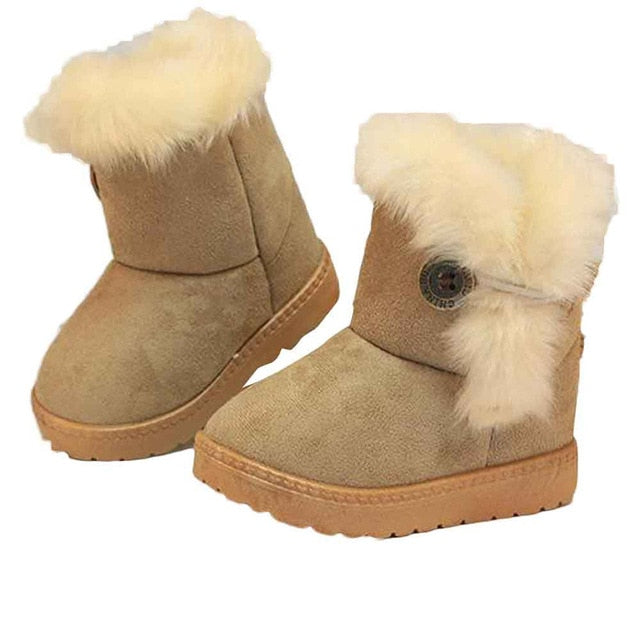 Trendy winter baby snow boots