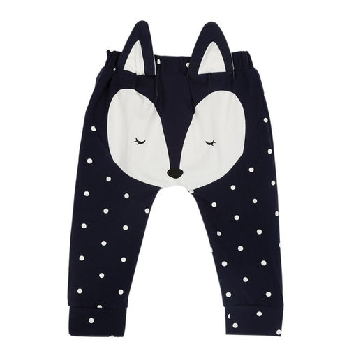 Baby Fox Bum-Bum Harem Dotted Pants