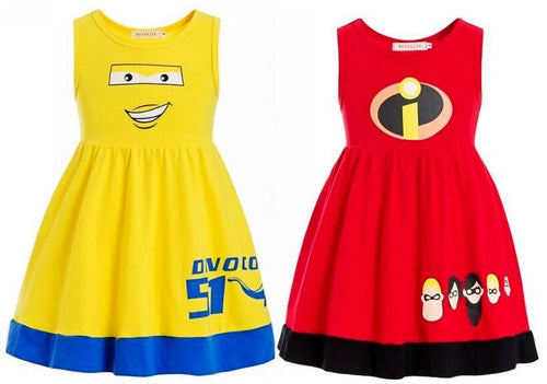 Incredible Colorful Super-Hero Toddler Girl Christmas Outfits