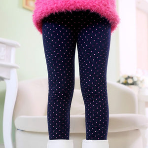 Colorful Print winter Baby Girl Leggings