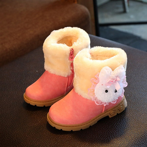 Cartoon Face Winter Baby boot