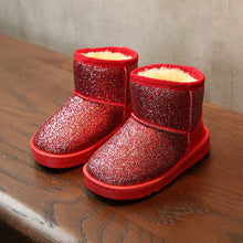 Load image into Gallery viewer, Bling winter shoes for baby girl