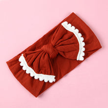 Load image into Gallery viewer, Wide Nylon Bow Baby Headband