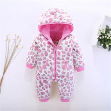 Load image into Gallery viewer, Winter Baby Rompers Newborn Boys Girls Snowsuit