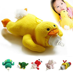 Animal Plush baby milk bottle cover