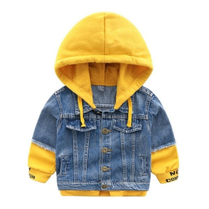 Dylan Denim Trendy Hooded Jacket