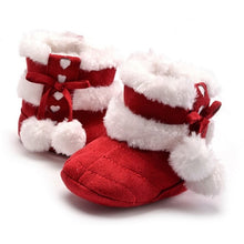 Load image into Gallery viewer, Baby Girl Anti-slip Christmas Booties