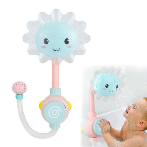 Sunflower Shower Faucet Spout Kids Bathing Toy