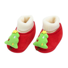 Load image into Gallery viewer, Christmas Fluffy Cotton Baby Winter Warm Shoes