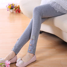 Load image into Gallery viewer, Pure Cotton Floral Princess Skinny legging