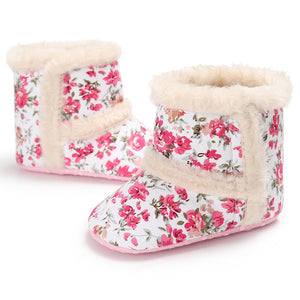 Newborn Winter Baby Girl Crib Shoes