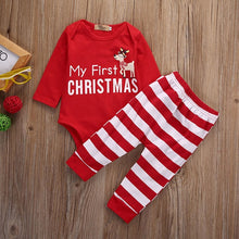 Load image into Gallery viewer, Winter baby outfits for Christmas