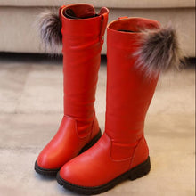 Load image into Gallery viewer, Baby girl high snow boots  for winter