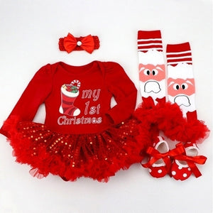 Christmas Party Dress for Baby Girl