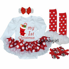 Load image into Gallery viewer, Christmas Party Dress for Baby Girl