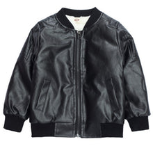 Load image into Gallery viewer, New arrival Baby boy trendy Leather jacket