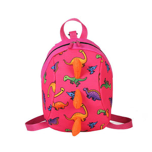 3D Little Monster 'Dinosaur Backpack' With Tail