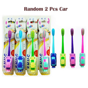 Baby Boy Car Soft-bristled Toothbrush