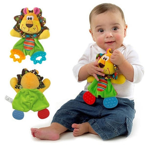 Animal Cartoon Rattle Toys for Baby Stroller