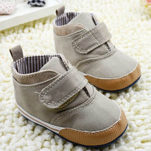 Load image into Gallery viewer, 'Camryn' Baby Soft Sole High-Top Crib Shoes