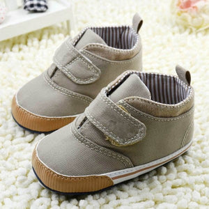 'Camryn' Baby Soft Sole High-Top Crib Shoes