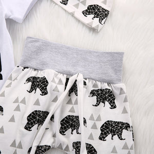 'Baby Bear'-3 Piece Unisex Clothes Sets