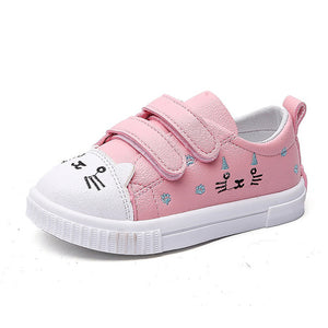 RUBBER 'Cute Cat'  Breathable baby shoes