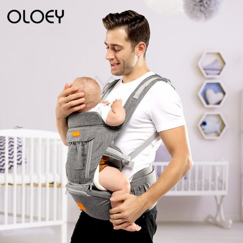 Multi functional travel baby carrier waist Stool