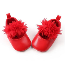 Load image into Gallery viewer, First Walkers Baby Girl's Crown Shoes