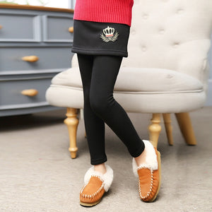 Baby Girl's Bootcut Winter Leggings
