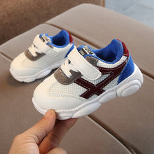 "Load image into Gallery viewer, ""Comfortable"" Air Mesh Baby Sneakers"
