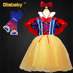 Snow-White Cosplay Baby Girl Christmas Dress