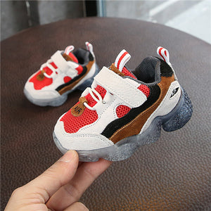 Anti-slip First Walkers Mesh Breathable Baby Shoes