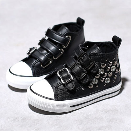 'Sami' Rivet Toddler Sneaker