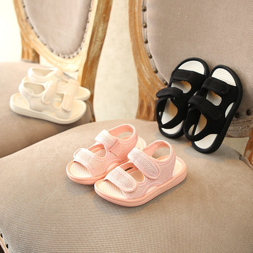 'Lounger' Mesh Velcro Beach Sandals