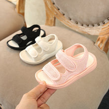 Load image into Gallery viewer, 'Lounger' Mesh Velcro Beach Sandals