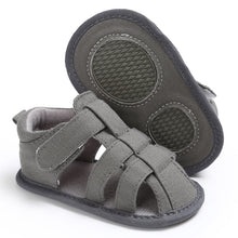 Load image into Gallery viewer, Babylon First Walker Canvas Sandal (DISCOUNT!!)