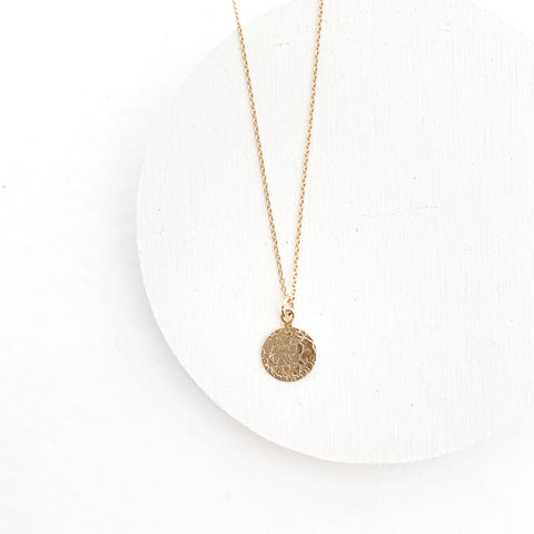 metal plate necklace 55 10