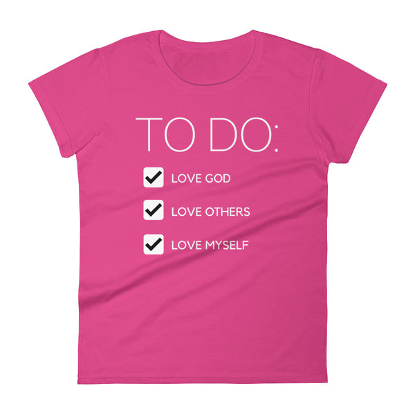 To Do Women's Crew T-Shirt