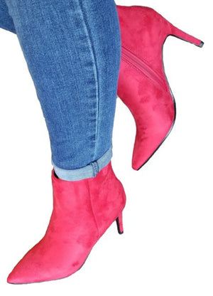 Lil Red Riding Hood Ankle Boots