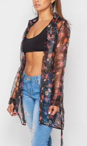 Feel Me Sheer Cardigan