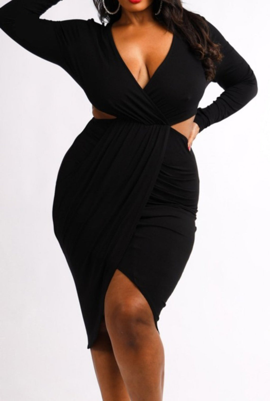I Got Cut Out Plus Size Dress